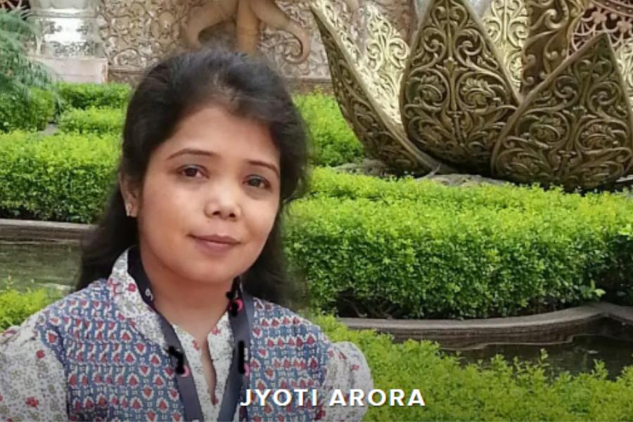 Jyoti Arora Thalassaemia Blood disorder