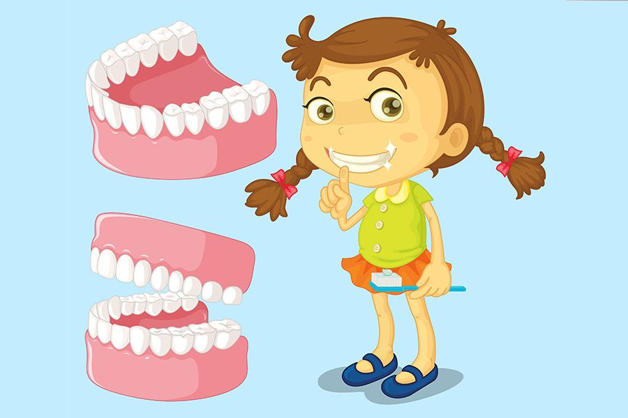 8 Tips to Keep Your Childs Teeth Healthy by Dr. K C Nair