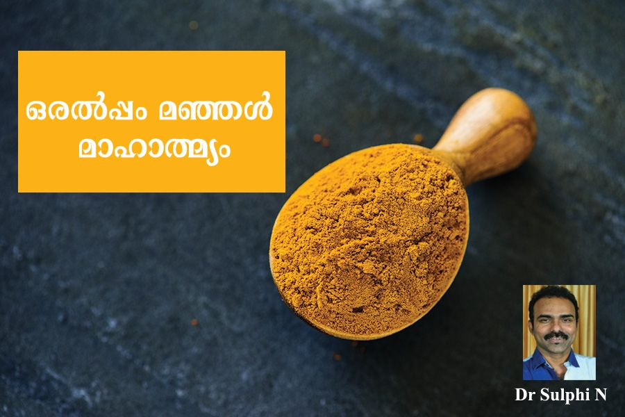 Can cure cancer with turmeric ? by  dr sulphi n