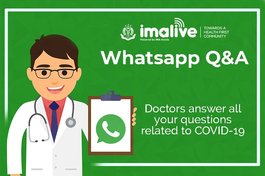 IMAlive COVID19 Whatsapp Q&A  Answers to your questions Part 1